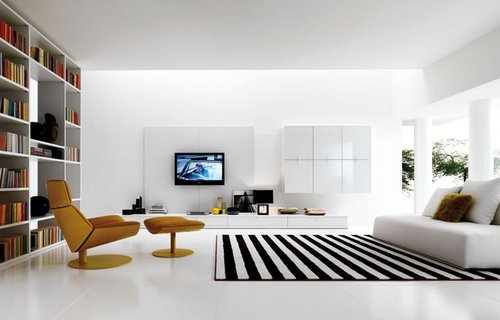 Effective Decor For Futuristic Living Room - www.nicespace.me