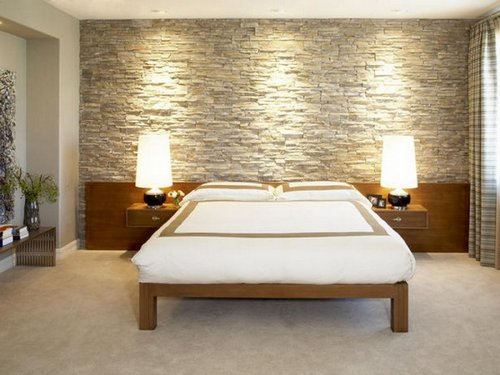 Modern-Bedroom-Interior-Designs-with-Stone-Wall-Decoration-2