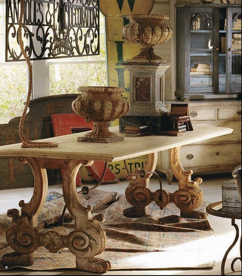 french-country-antiques-table