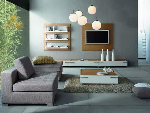Grey color in home decorating