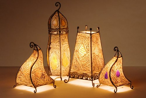 moroccan lamps traditional