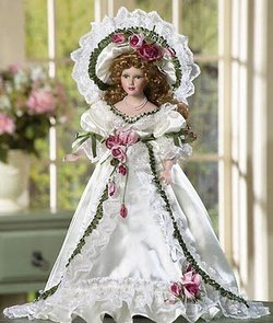 pink collectible-doll
