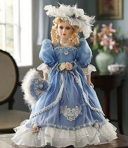 victorian collectible doll