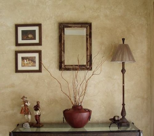 Decorating With Brown Painted Walls