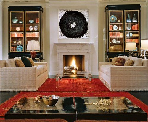 Home decorating 5 basic interior design principles for Symmetrical interior design
