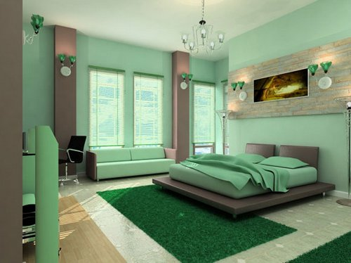 Serene Green Is A Perfect Interior Paint Color For Stressful Economic Times