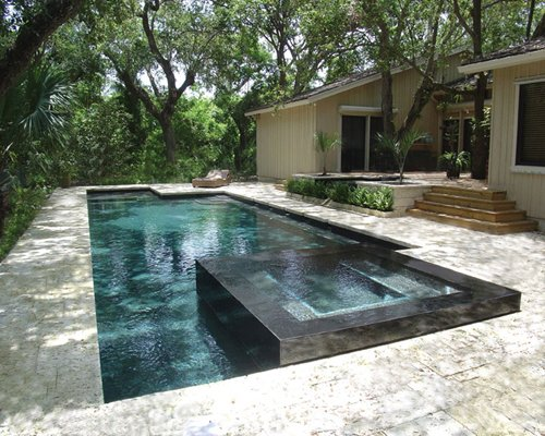 Geometric Swimming Pool In Your Backyard