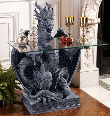 Home Decorating In Gothic Style