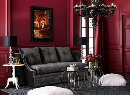 gothic living room ideas home decorating in style 16596