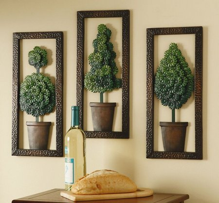 Metal Wall Decor Gives Timeless Look And Appeal - www ...