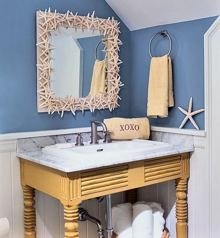 ways of using beach decor and colors