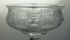Antique Engraved Glass