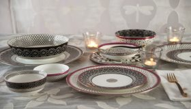 Check Out Inspiring Floral Dinnerware for a Modern Family Décor