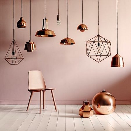 Copper Lighting The Latest Trend 2015 Wwwnicespaceme