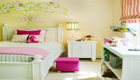 Bedroom Decorating With Garden Theme