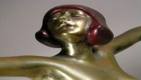 Art Nouveau & Art Deco Stylish Figures