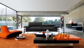 Orange Rugs And Carpets For Colorful Living Space