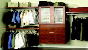 Function Of The Wood Closet Organizers