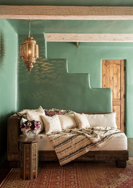 olive-green-wall
