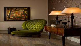 Choose The Olive Green Color For Your Interior