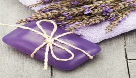 Lavender Themed Bathroom Accessories