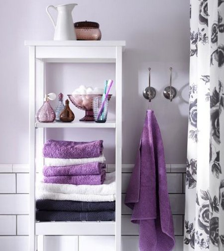 Lavender Themed Bathroom Accessories - www.nicespace.me