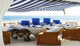 Outdoor Dining With Luxurious Decor