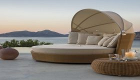 Modern Patio Furniture For A Romantic Mood