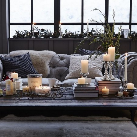 extra comfort with winter home decorating
