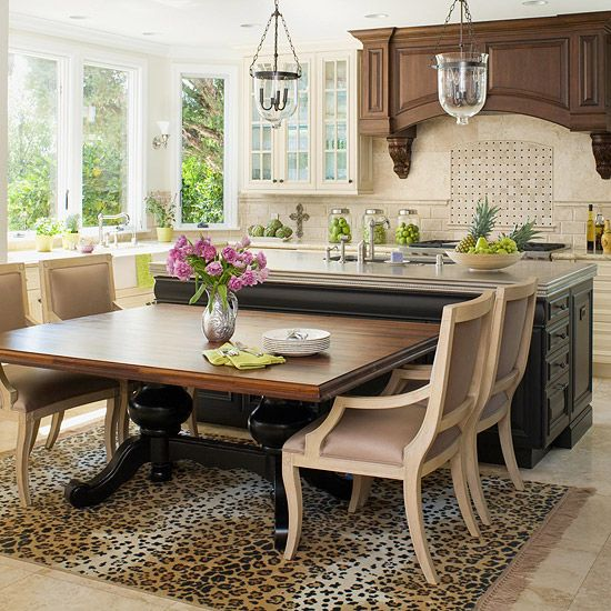 Kitchen With Dining Table The kitchen table a symbol of food family and good times workwithnaturefo