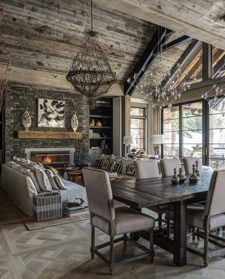 Getting A Rustic Feel For Your Fireplace Is A Simple Matter Of Choice Of  Construction Materials.