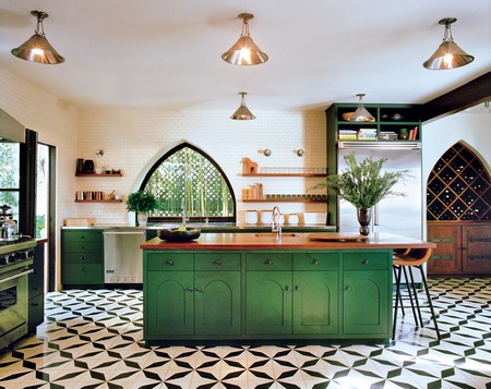 Charmant Choosing A Green Color For A Kitchen Depends On A Lot Of Factors. It  Depends On Whether You Have A Large Kitchen With Open Spaces And Seating  Arrangements, ...