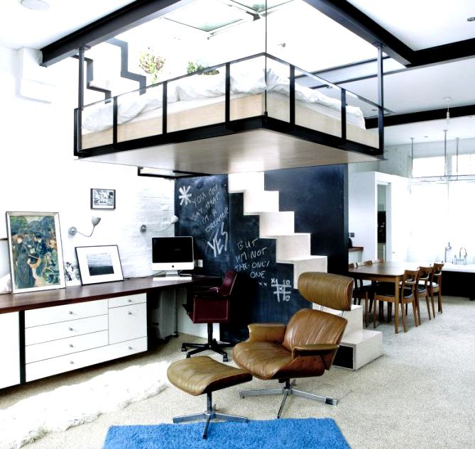 Maximizing The Space Of Small Room With Loft Bed - www ...
