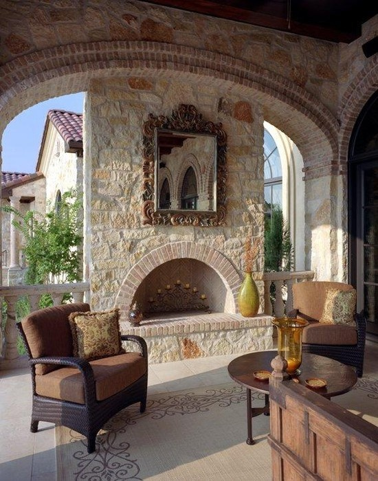 Patio Design In Tuscan Style Www Nicespace Me