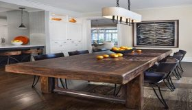Wooden Kitchen Tables For Natural Design Affection